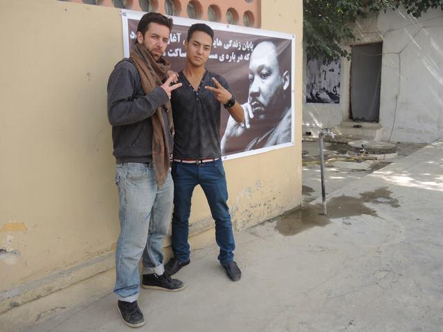 Spoken Word Group Piece with The Afghan Peace Volunteers & Luke